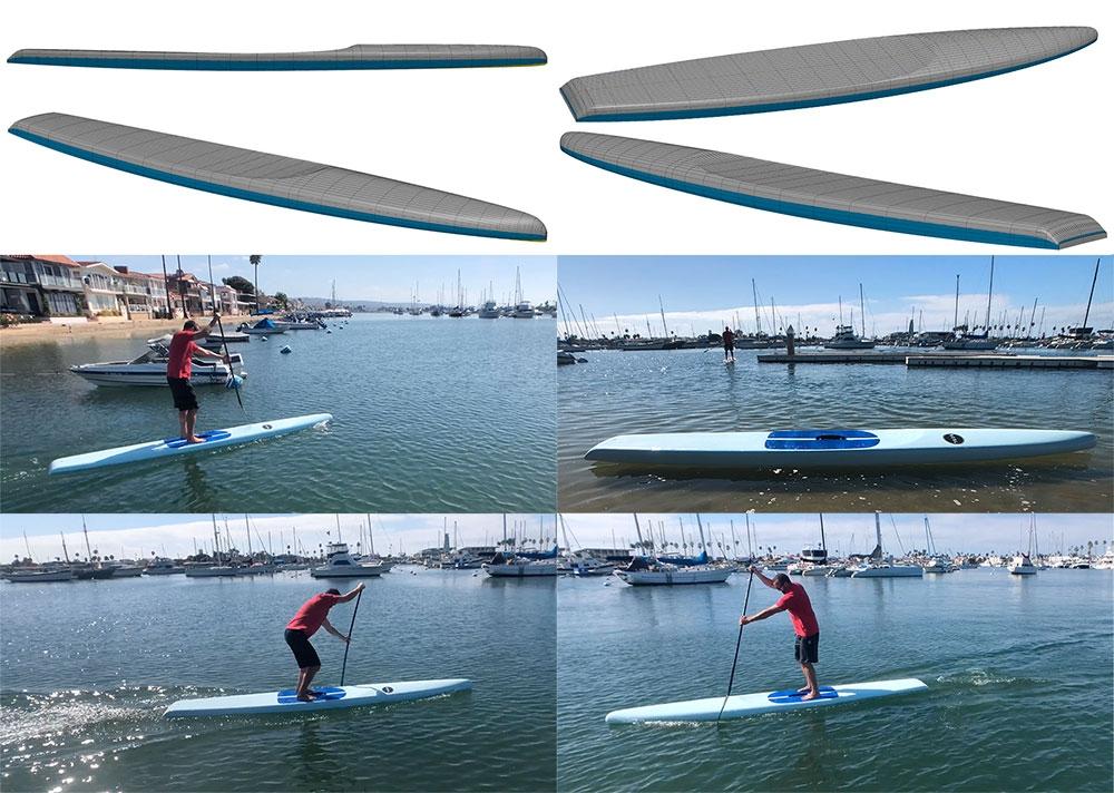 "2019 VESL 14'0 x 26"" Carbon Performance Touring Paddle Board"