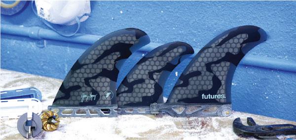 Futures Fins Gerry Lopez GL 5 Fin Set - SUP Surf